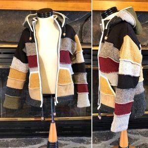 Men's Small Laundromat Wool Hoodie Sweater